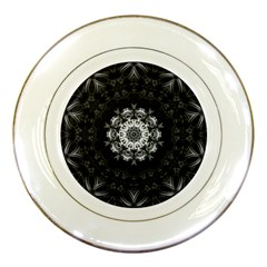 (8) Porcelain Display Plate