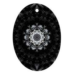(8) Oval Ornament (Two Sides)