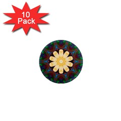 Smoke art  (9) 1  Mini Button Magnet (10 pack)