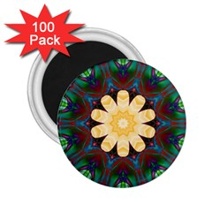 Smoke art  (9) 2.25  Button Magnet (100 pack)