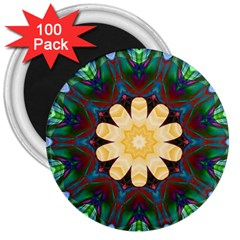 Smoke Art  (9) 3  Button Magnet (100 Pack)
