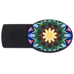 Smoke art  (9) 1GB USB Flash Drive (Oval)