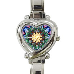 Smoke art  (9) Heart Italian Charm Watch
