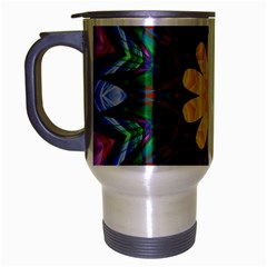 Smoke Art  (9) Travel Mug (silver Gray)