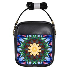 Smoke art  (9) Girl s Sling Bag