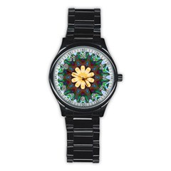 Smoke art  (9) Sport Metal Watch (Black)