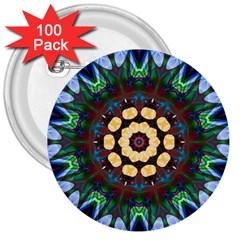 Smoke art  (10) 3  Button (100 pack)
