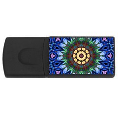 Smoke art  (10) 2GB USB Flash Drive (Rectangle)