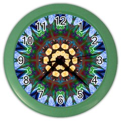 Smoke art  (10) Wall Clock (Color)