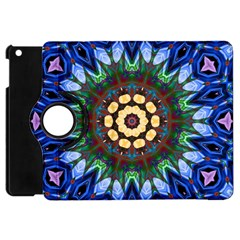 Smoke art  (10) Apple iPad Mini Flip 360 Case