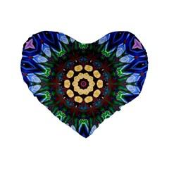 Smoke Art  (10) 16  Premium Heart Shape Cushion