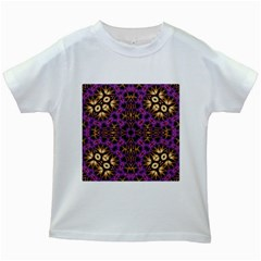 Smoke Art  (11) Kids' T-shirt (White)