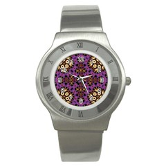 Smoke Art  (11) Stainless Steel Watch (Unisex)