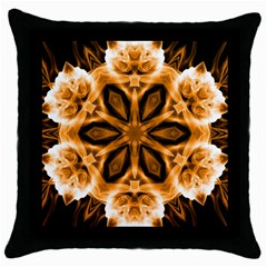 Smoke art (12) Black Throw Pillow Case
