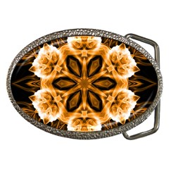 Smoke Art (12) Belt Buckle (oval)