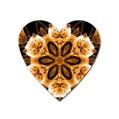 Smoke Art (12) Magnet (heart)
