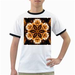Smoke art (12) Mens' Ringer T-shirt