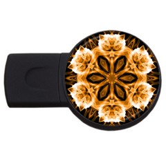 Smoke art (12) 4GB USB Flash Drive (Round)