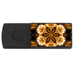Smoke Art (12) 4gb Usb Flash Drive (rectangle)
