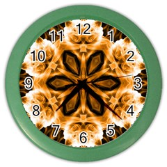 Smoke art (12) Wall Clock (Color)