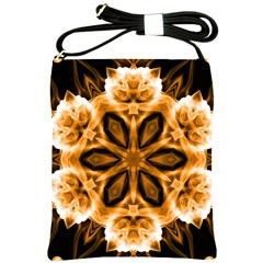 Smoke Art (12) Shoulder Sling Bag