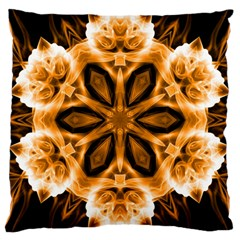 Smoke art (12) Large Cushion Case (Two Sides)