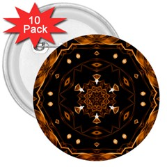 Smoke art (13) 3  Button (10 pack)