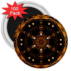 Smoke art (13) 3  Button Magnet (100 pack)