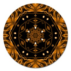 Smoke art (13) Magnet 5  (Round)
