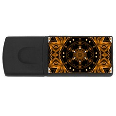 Smoke art (13) 2GB USB Flash Drive (Rectangle)