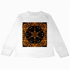 Smoke art (13) Kids Long Sleeve T-Shirt