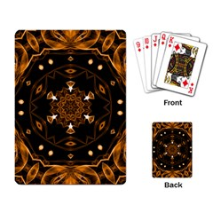 Smoke art (13) Playing Cards Single Design