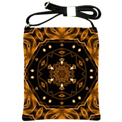 Smoke Art (13) Shoulder Sling Bag