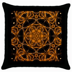 Smoke Art (14) Black Throw Pillow Case