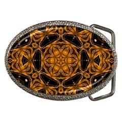 Smoke art (14) Belt Buckle (Oval)