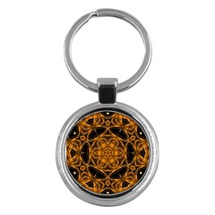 Smoke art (14) Key Chain (Round)