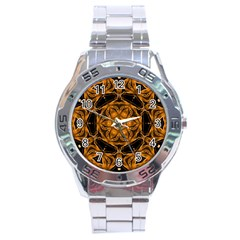 Smoke Art (14) Stainless Steel Watch (men s)