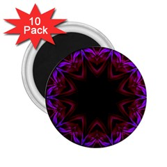Smoke Art  (15) 2 25  Button Magnet (10 Pack)