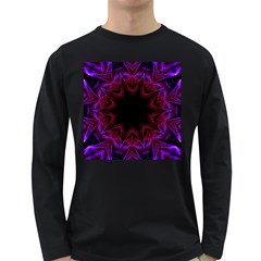 Smoke art  (15) Mens' Long Sleeve T-shirt (Dark Colored)