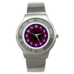 Smoke art  (15) Stainless Steel Watch (Unisex)