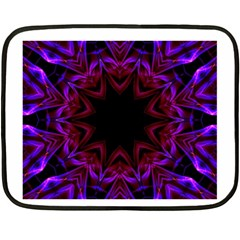 Smoke Art  (15) Mini Fleece Blanket (two Sided)
