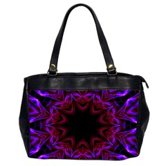 Smoke art  (15) Oversize Office Handbag (Two Sides)
