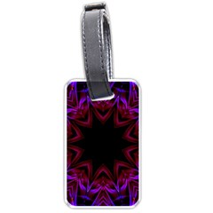 Smoke art  (15) Luggage Tag (One Side)