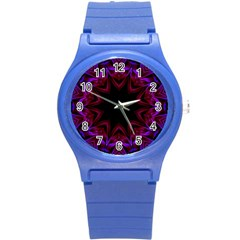 Smoke art  (15) Plastic Sport Watch (Small)