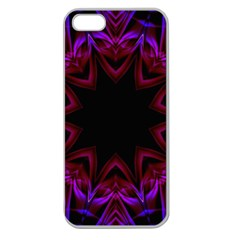 Smoke art  (15) Apple Seamless iPhone 5 Case (Clear)