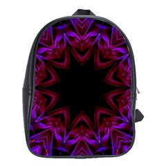 Smoke art  (15) School Bag (XL)