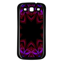 Smoke art  (15) Samsung Galaxy S3 Back Case (Black)