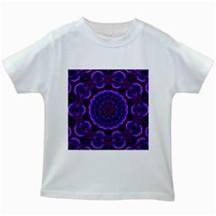 (16) Kids' T-shirt (White)