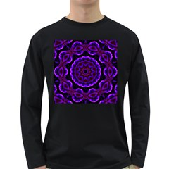 (16) Mens' Long Sleeve T-shirt (Dark Colored)