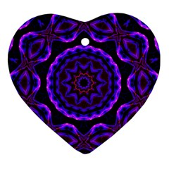 (16) Heart Ornament (Two Sides)